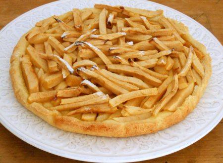 CROSTATA CON LE MELE, come patate fritte