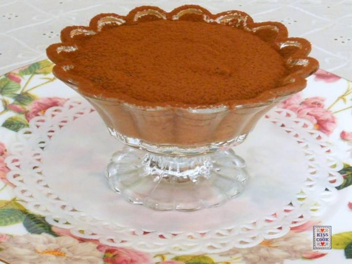 Mousse al cioccolato fondente e ricotta