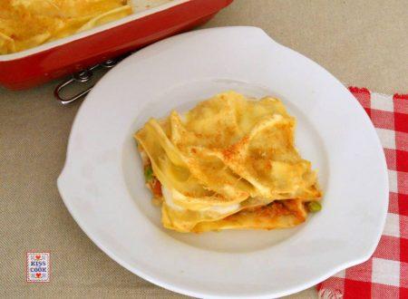 LASAGNE CON RAGU' DI VERDURE – ricetta vegetariana