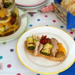 tonno di pollo con verdure