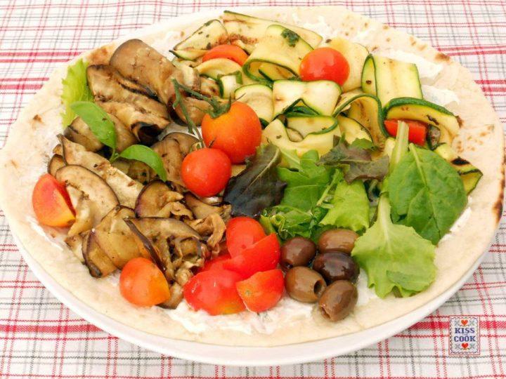 Piadina alle verdure