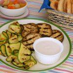 zucchine e melanzane grigliate con salsa tonnata