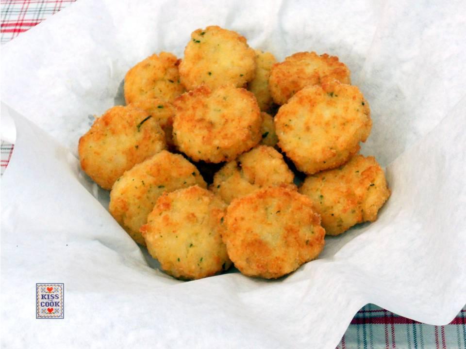 Polpette di pesce e riso ricetta facile di kissthecook for Pesce chicco di riso