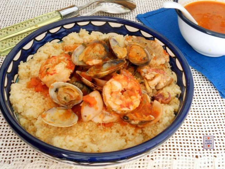 Cous cous di pesce di kissthecook for Cucinare cous cous