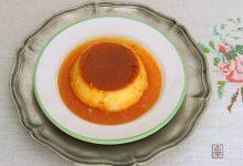Crème caramel alla zucca e parmigiano