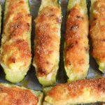 Zucchine ripiene gratinate - ricetta vegetariana