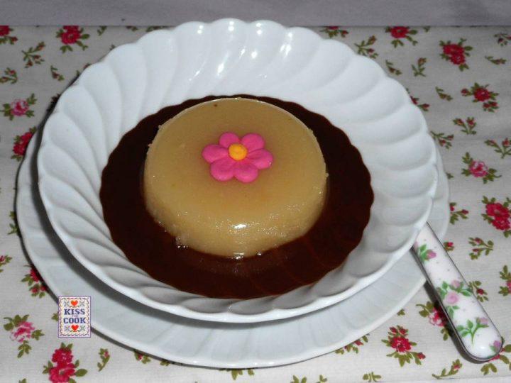 Budino di pere e cioccolato senza uova lattosio glutine