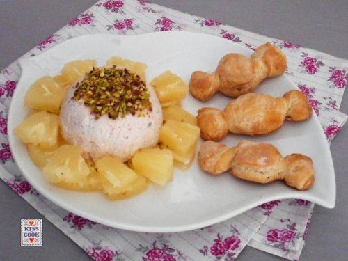 Paté di prosciutto con ananas