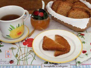 Fette biscottate con farina di farro