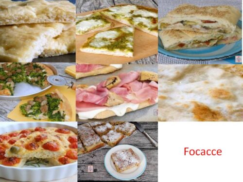 FOCACCE