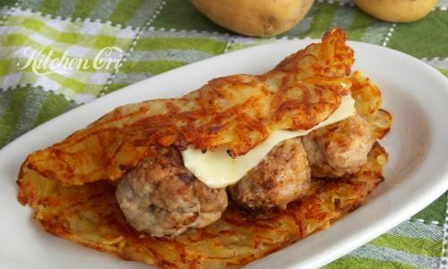 Polpette in rosti di patate, ricetta sfiziosa