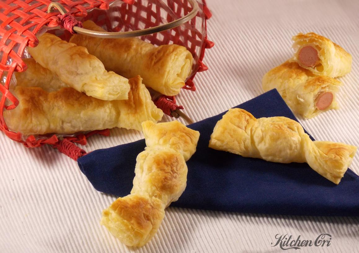 Caramelle di pasta sfoglia, ricetta sfiziosa