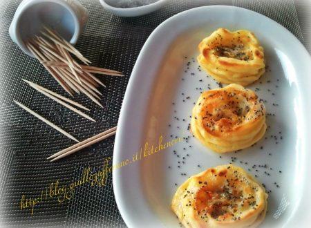 Cestini di purè con gorgonzola, ricetta veloce