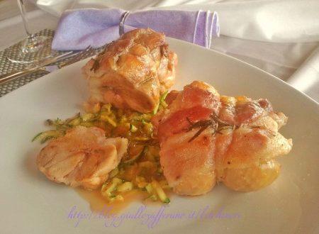 Involtini di pollo, ricetta classica e veloce