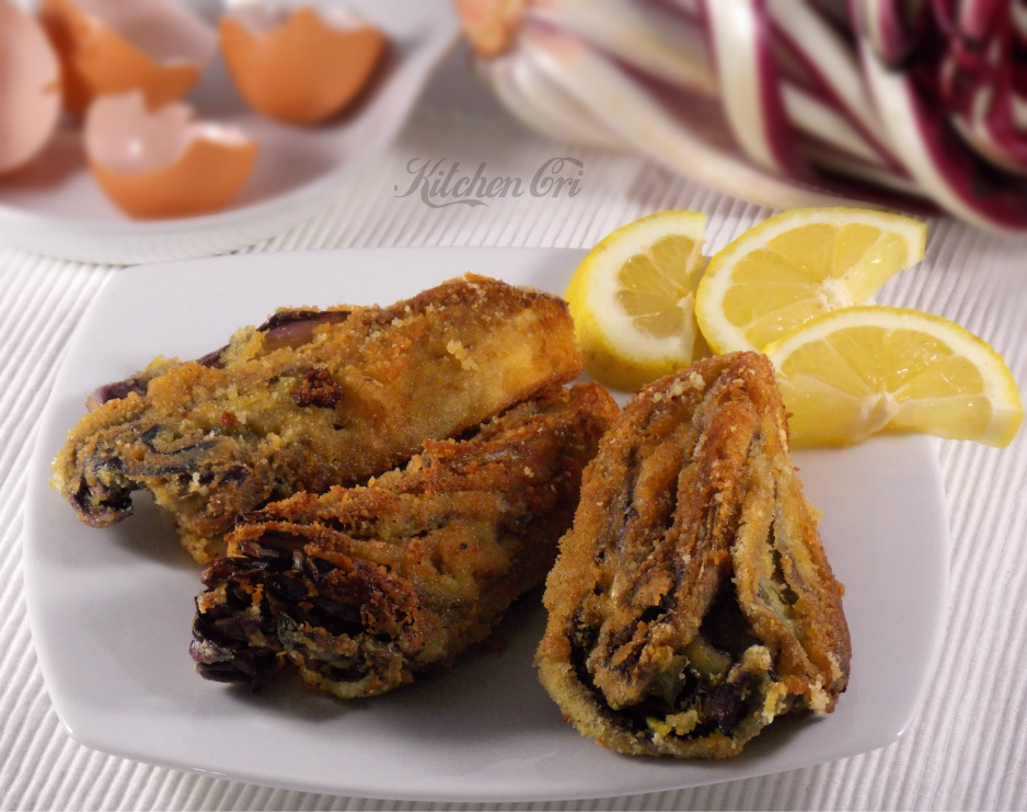 Radicchio di Treviso impanato, ricetta tipica
