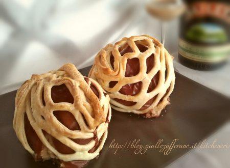 Mele cotte, ricetta sfiziosa con amaretti e cioccolato