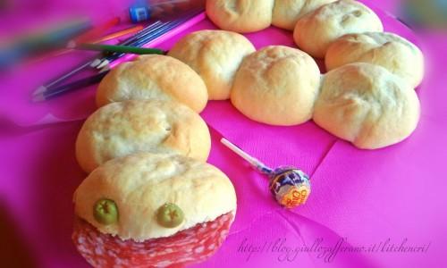 Serpente di pane, ricette per bambini