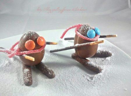 Sciatori di cioccolato, speciale bambini