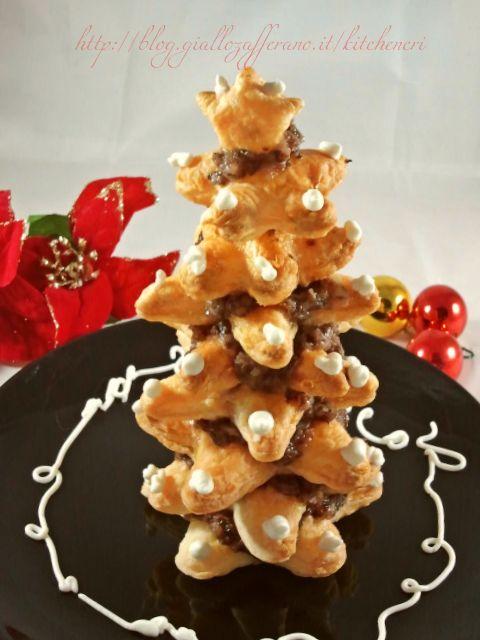albero di natale di pasta sfoglia di kitchen cri Albero di Natale, ricette con pasta sfoglia