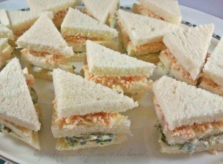 Mini club sandwiches, ricetta antipasti