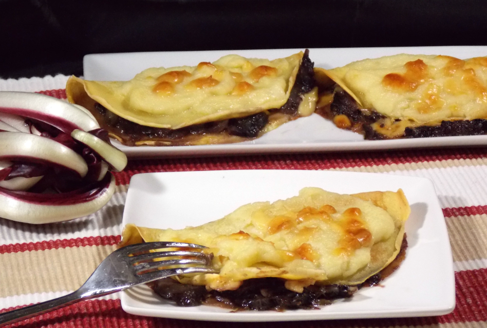 Crepes radicchio e brie kitchen cri