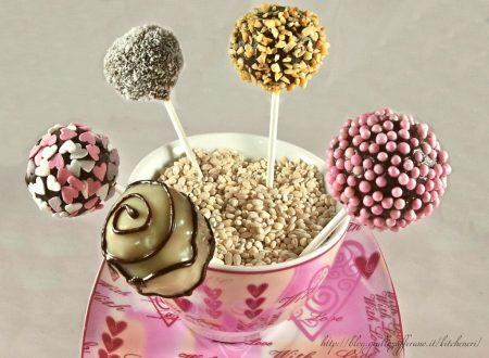 Cake pops al cioccolato, ricetta semplice