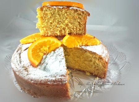 Torta sofficissima alle arance, ricetta con video tutorial