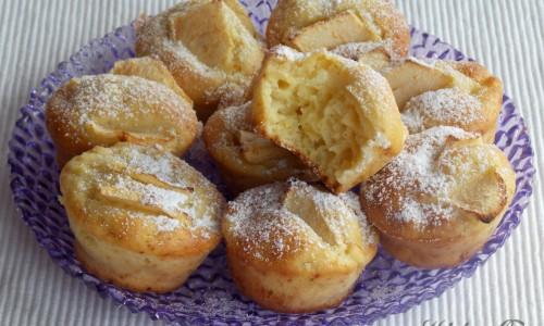 Muffin mela e cannella, ricetta golosa