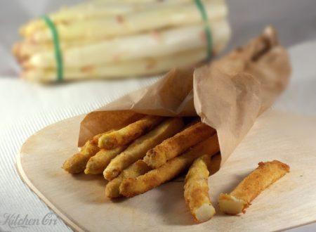 Asparagi impanati, ricetta con asparagi