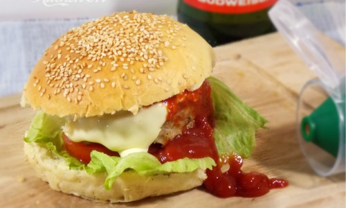 Cheeseburger, ricetta fast food