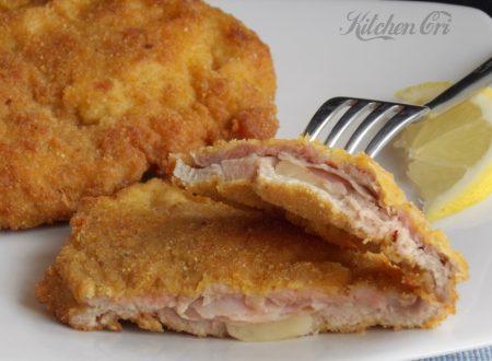Cordon bleu di pollo e prosciutto