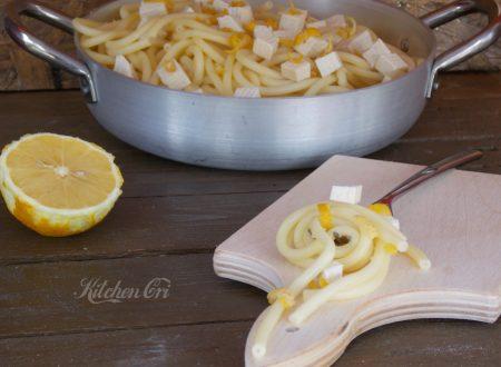Spaghetti limone e tofu, dieta salute e bellezza