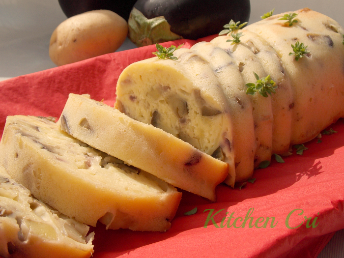 Plumcake melanzane e patate