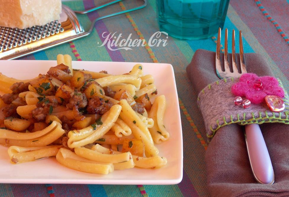 Pasta salsiccia e patate