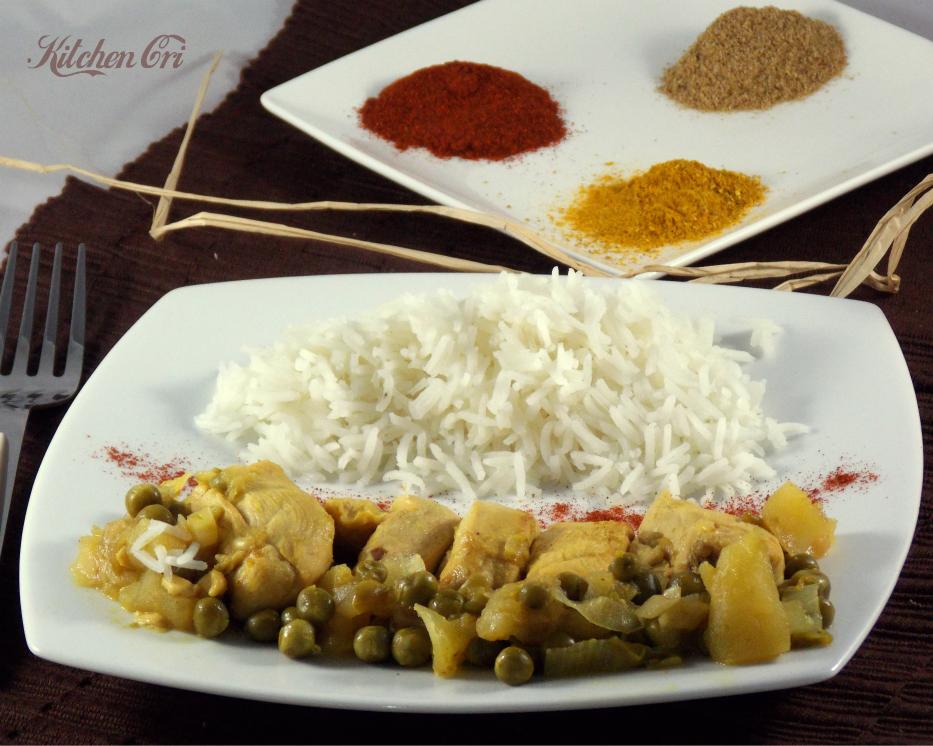 Pollo speziato, ricetta veloce