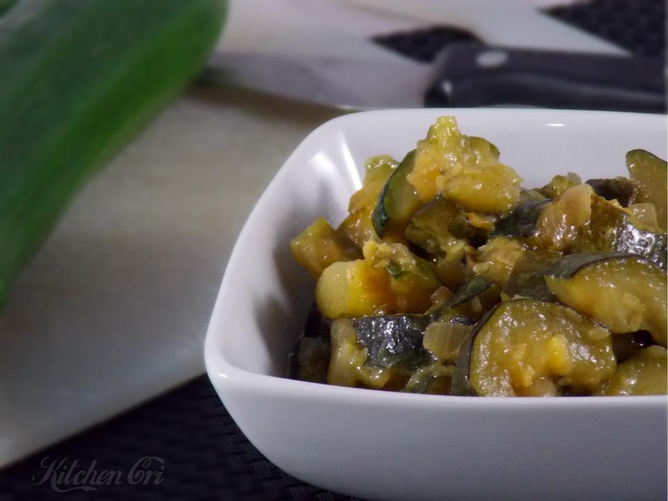 zucchine in tecia, ricetta