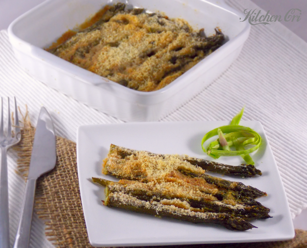 Asparagi gratinati, ricetta facile e veloce