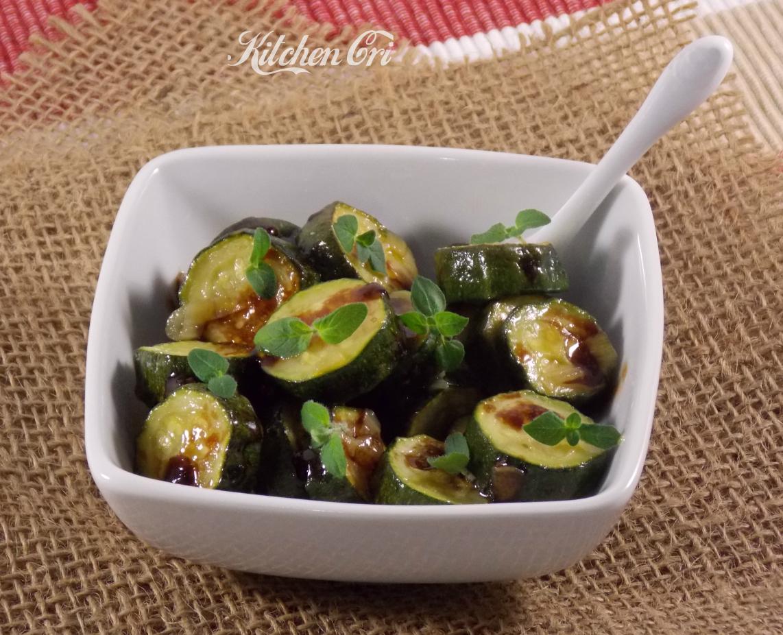 Zucchine al balsamico for Cucinare zucchine in padella