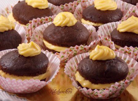 Muffin con crema alla vaniglia