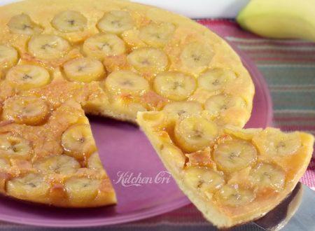 Torta di banane in padella
