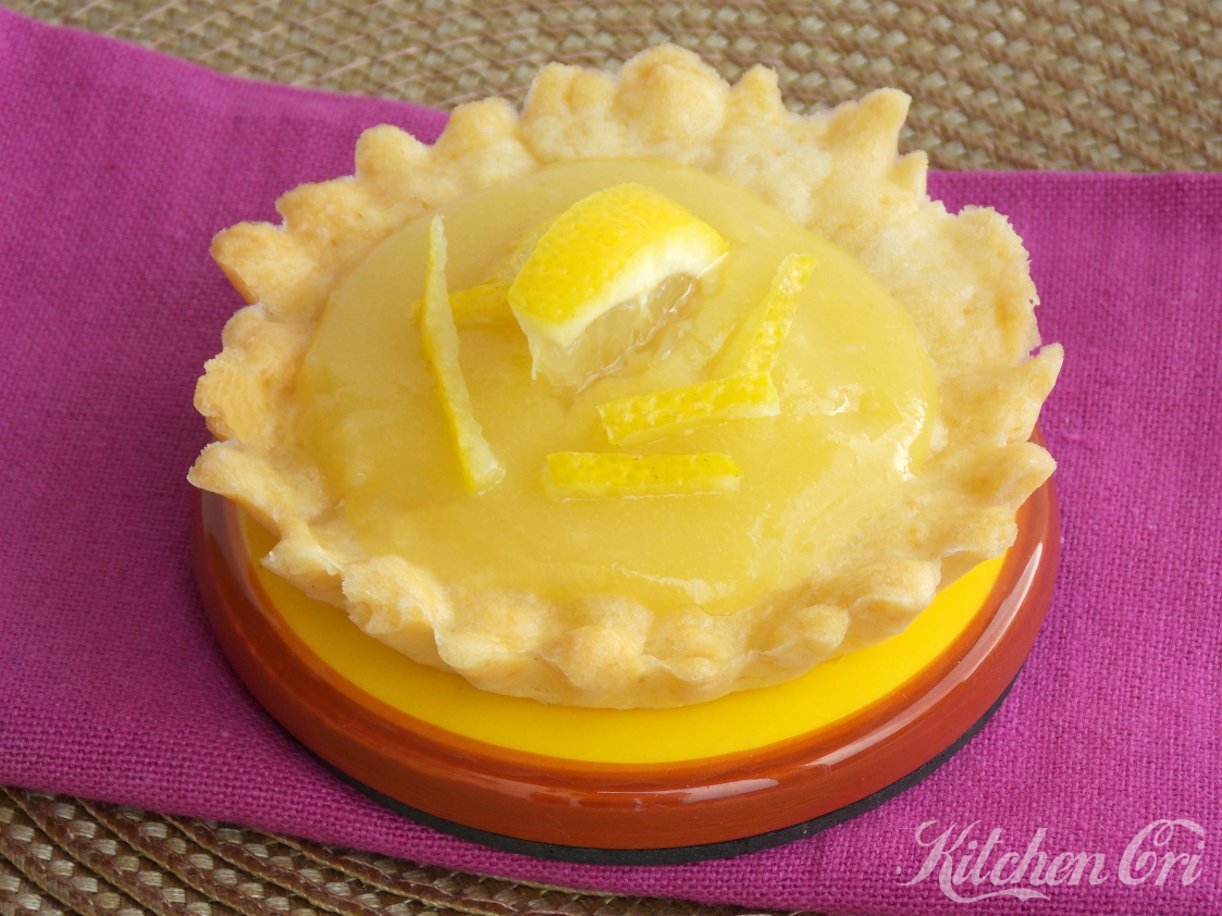 Crostatine con crema al limone
