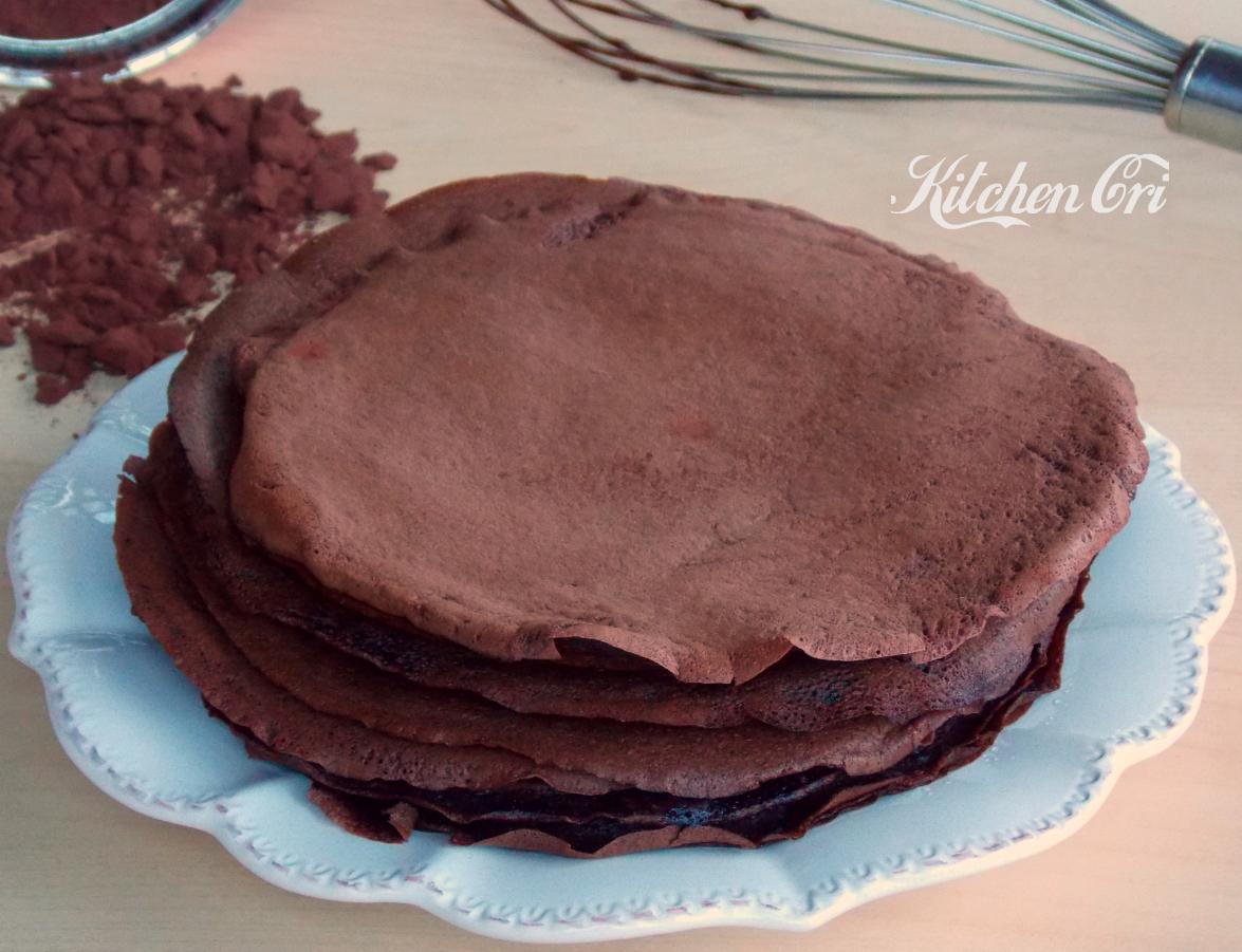 Crepes al cacao, ricetta base