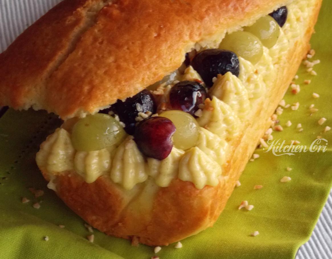 Plumcake all'uva e crema2