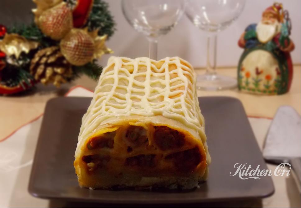Cannelloni ripieni in crosta di sfoglia