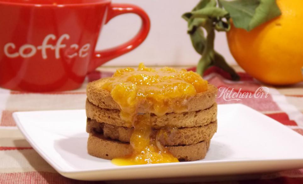 Marmellata di arance senza buccia