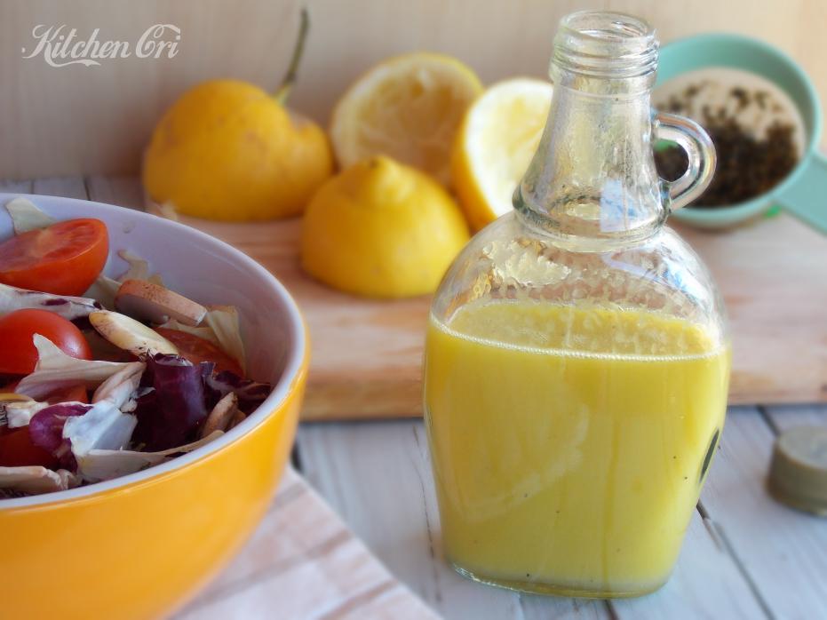 Citronette, salsa per verdure e pesce