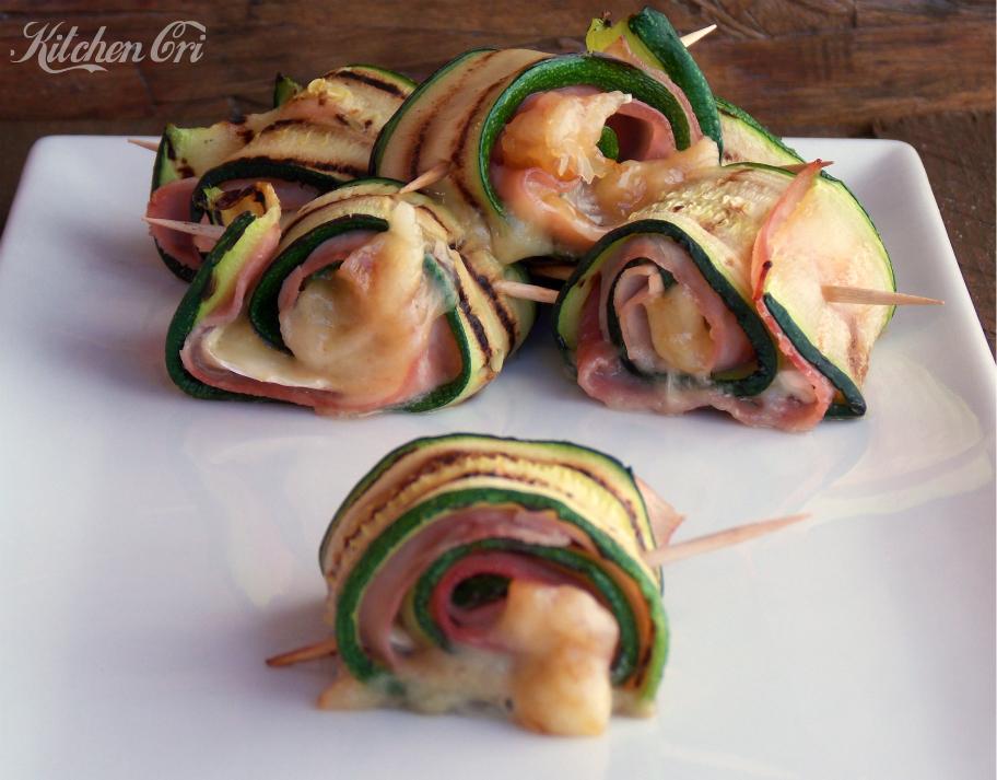 involtini di zucchine al forno 2