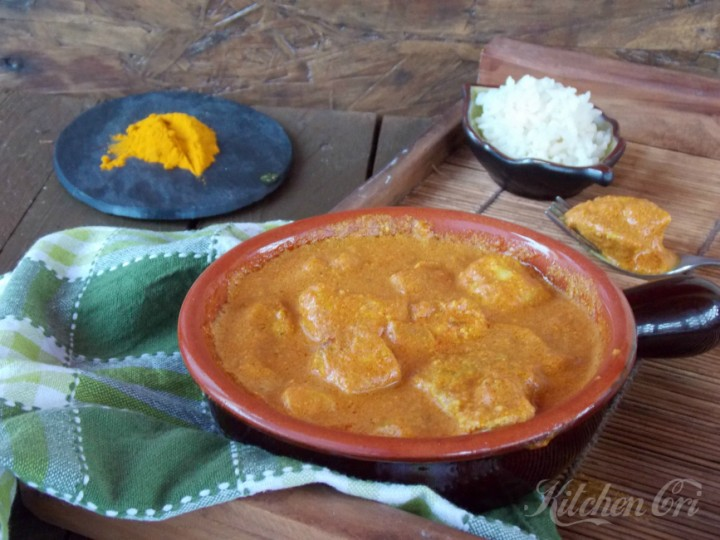 Pollo Tikka Masala (Luna di miele di due pazzi)