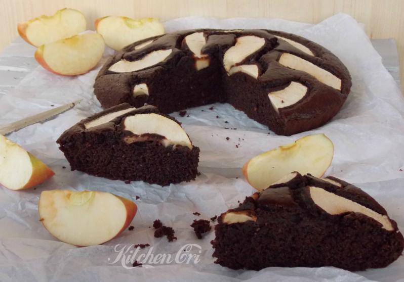 Torta mele e cacao (la torta di Luisa)2