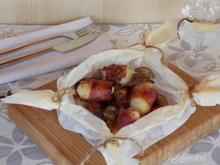 Rotolini di patate speck e funghi2